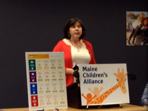 Executive Director, Claire Berkowitz introduces the 2015 KIDS COUNT Data Book.