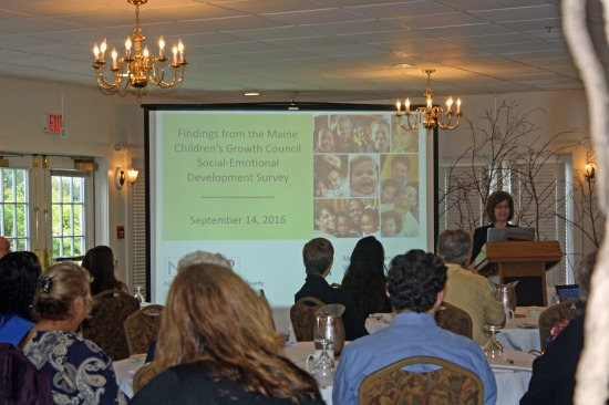 Dr. Smith presents her findings at the 2016 Social Emotional Learning & Development Conference.